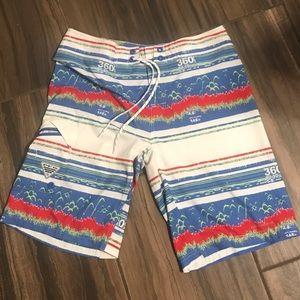Columbia PFG board shorts/ swimming shorts